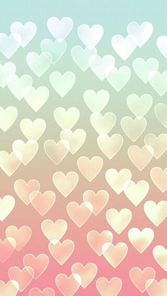 Muchos corazones | Fondo para whatsapp